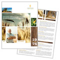 Farming & Agriculture Brochure Design