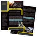 Trucking & Transport Datasheet Design