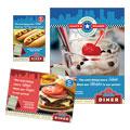 American Diner Restaurant Ad Designs
