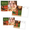 Pizza Restaurant Postcard Design