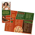 Pizza Restaurant Take-out Brochure Design