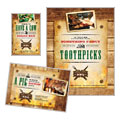 BBQ Restaurant Flyer & Ads Design