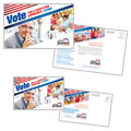 Political Campaign Postcard Design