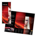 Makeup Artist Tri Fold Brochure Design