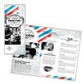 Barbershop Tri Fold Brochure Design