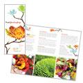 Flower Shop Brochure Design