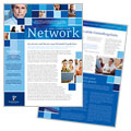 Technology Consulting Newsletter Design