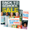 Back To School Sale Poster Design