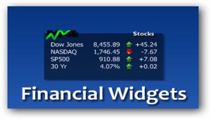 Financial Widgets