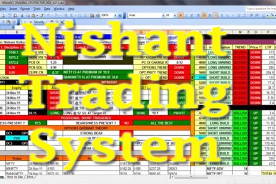 Nishant Trading System Excel