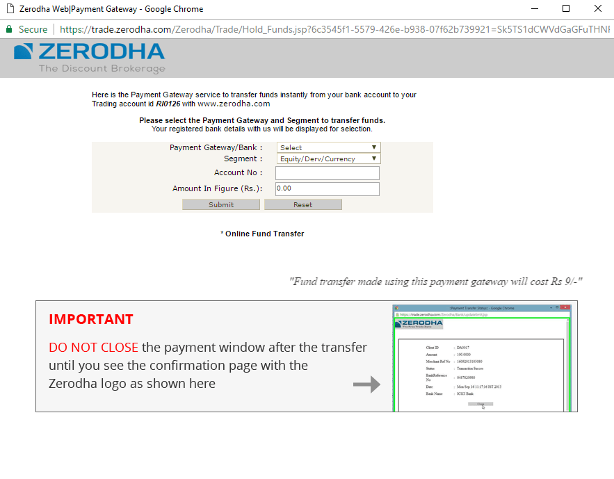 Zerodha-Kite-Add-Funds