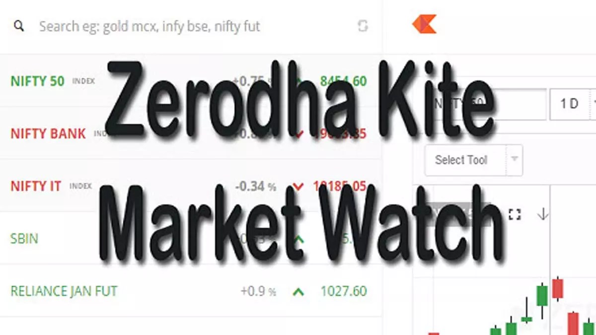 How To Add Your Favourite Scrip In Zerodha Kite Market Watch?