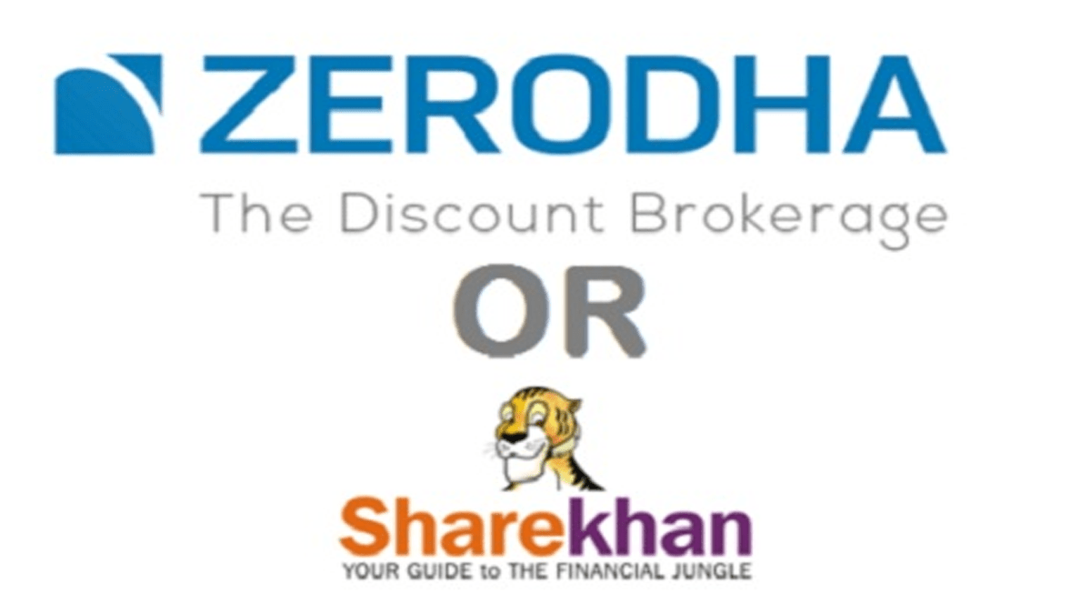 Zerodha Vs Sharekhan – Whom Should You Choose?