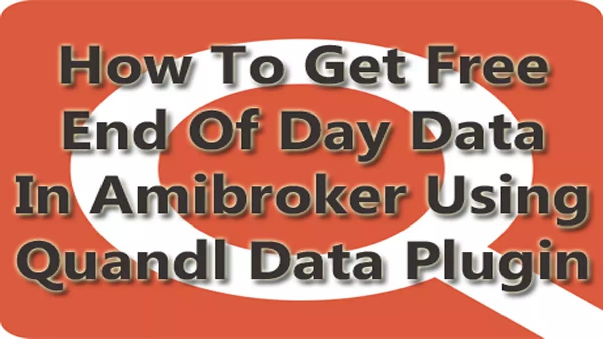 Free End Of Day Data Feed