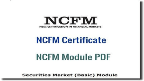 NCFM Certificate and NCFM Modules PDF