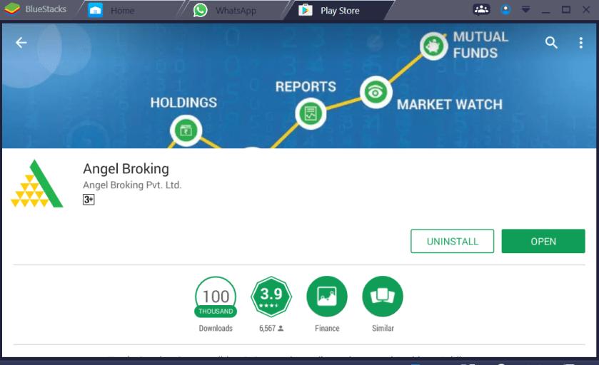 Angel Broking Mobile App