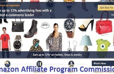 Amazon Affiliate Program Commission