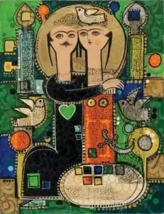Iranian Art Miniature Paintings