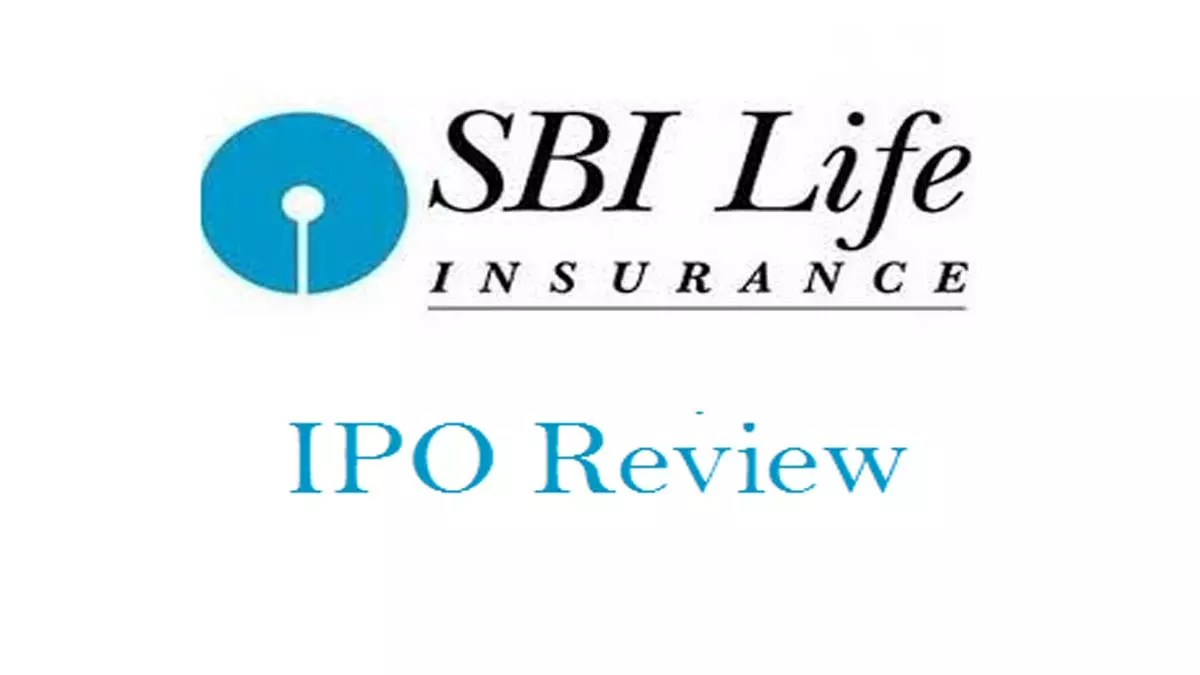 Review about sbi life insurance ipo