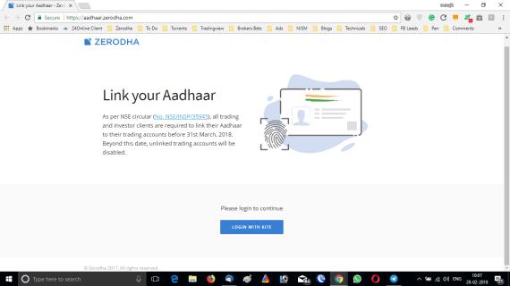 How To Link Aadhaar With Demat