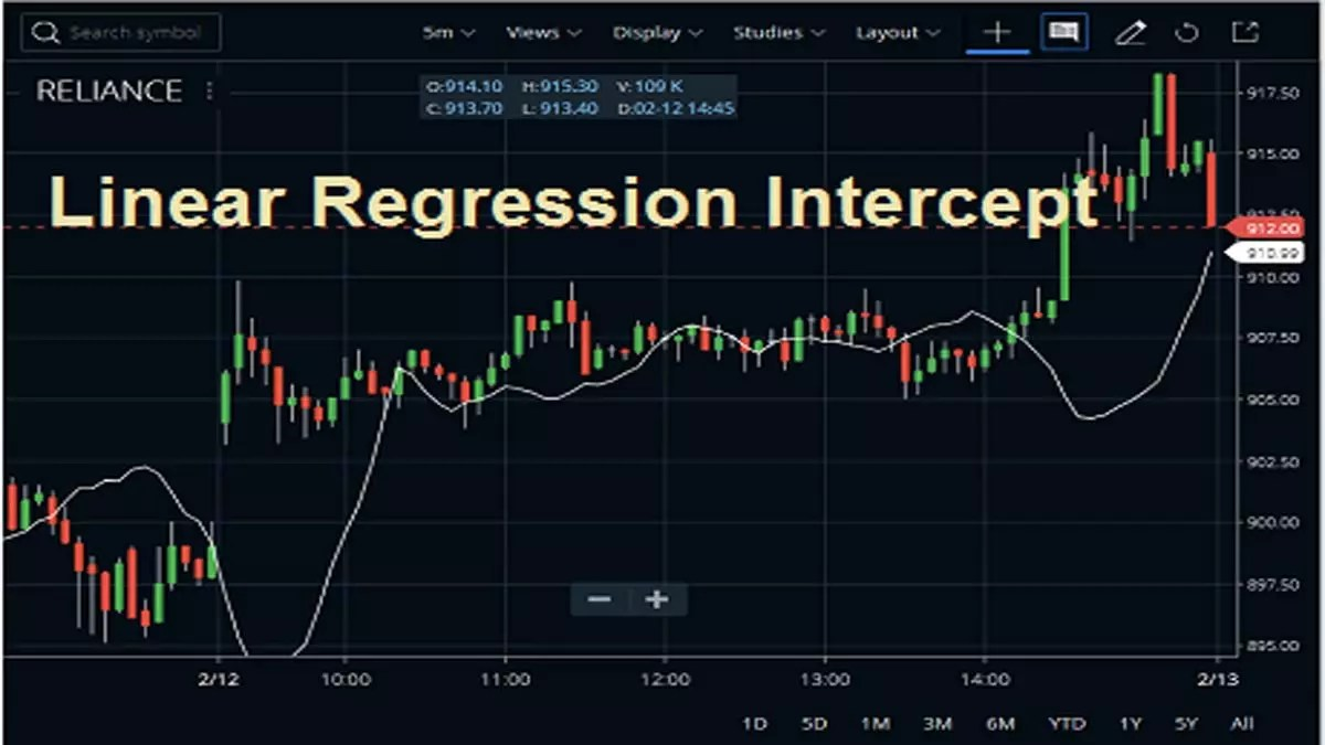Linear Regression Intercept Indicator Definition, Usage