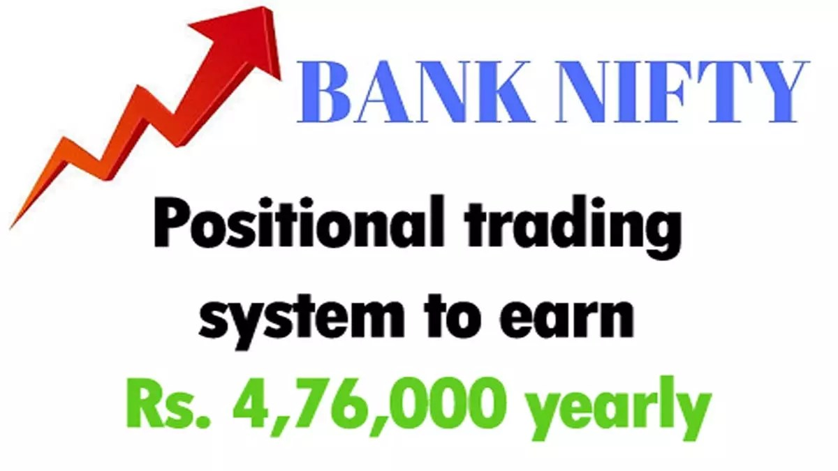 Bank Nifty Positional Trading System (Rs 4.76 Lacs Yearly)