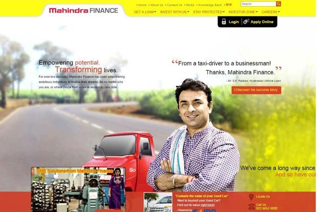 Mahindra and Mahindra Financial Services limited