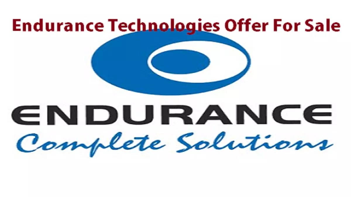 Endurance Technologies Offer For Sale (OFS)