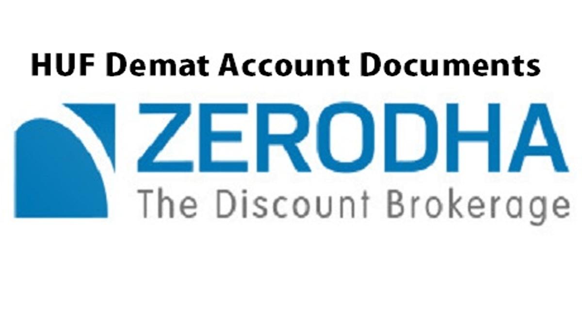 HUF Demat Account Documents
