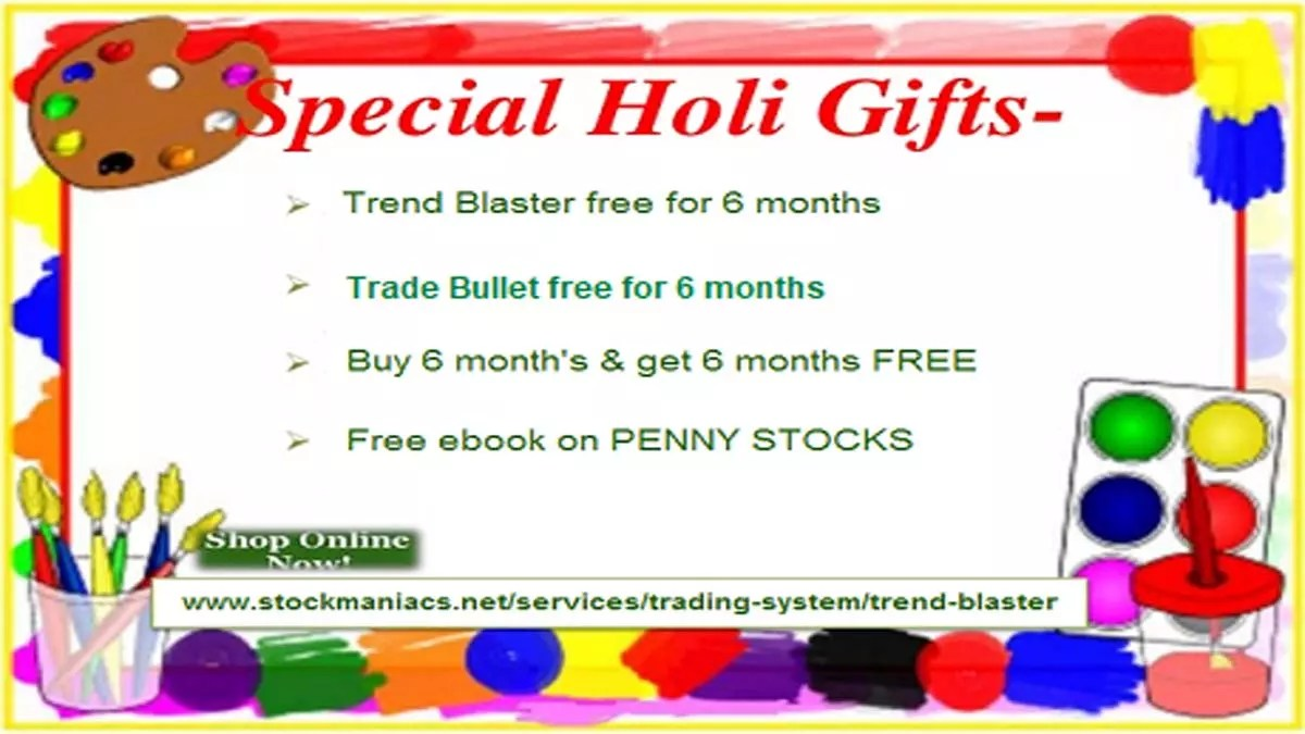 Happy Holi 2019 – Buy 6 Months And Get 6 Months FREE