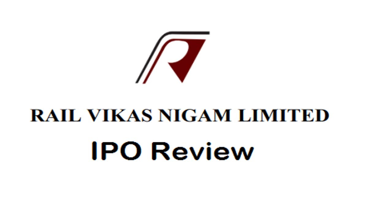 Rail Vikas Nigam IPO Review