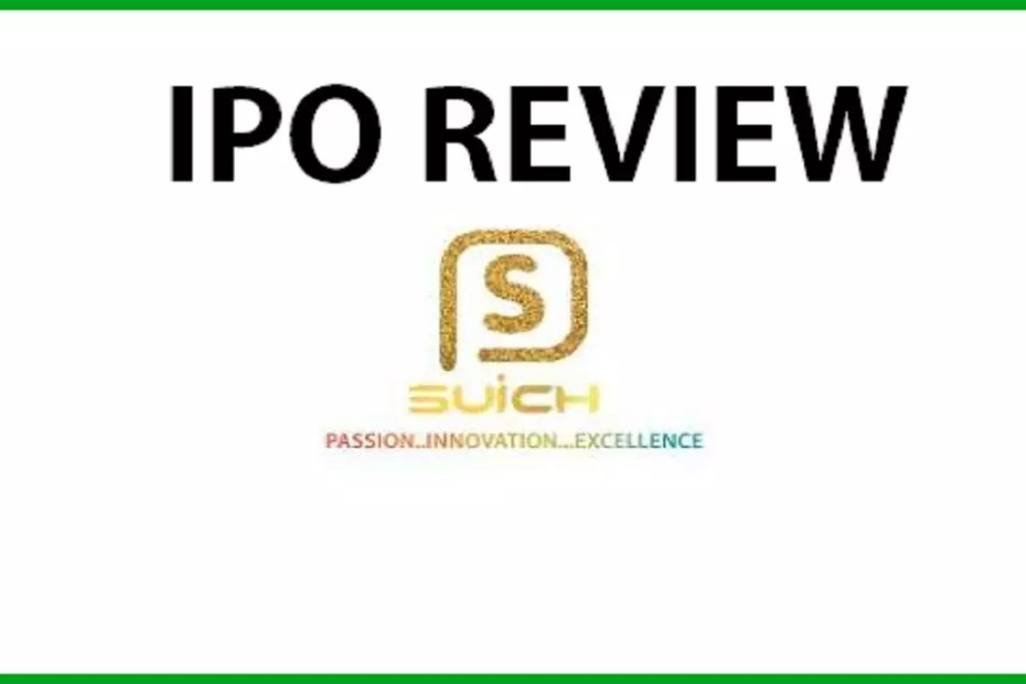 Suich Industries IPO Review