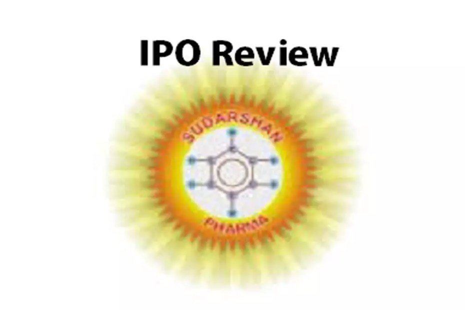 Sudarshan Pharma Industries IPO Review