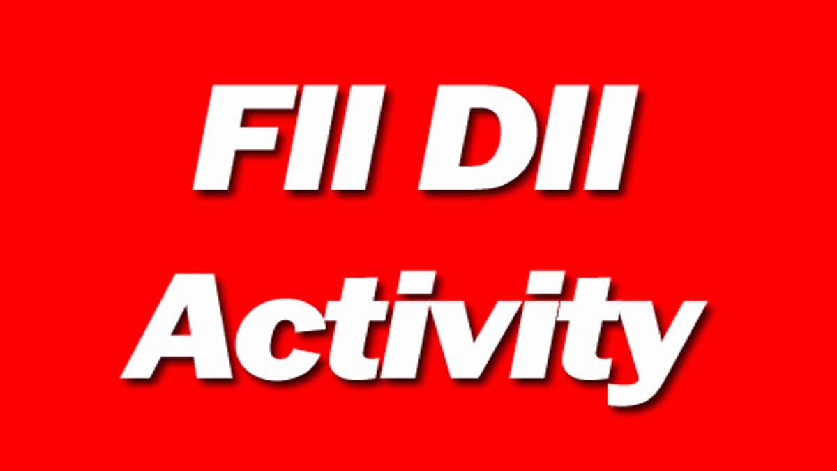 FII DII Activity