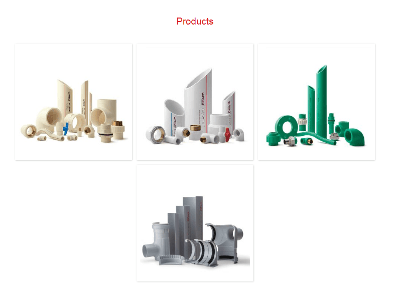 Prince Pipes and Fittings Products