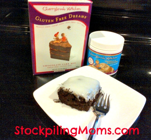 Cherrybrook Kitchen Cake Mix Frosting Review Gluten Free