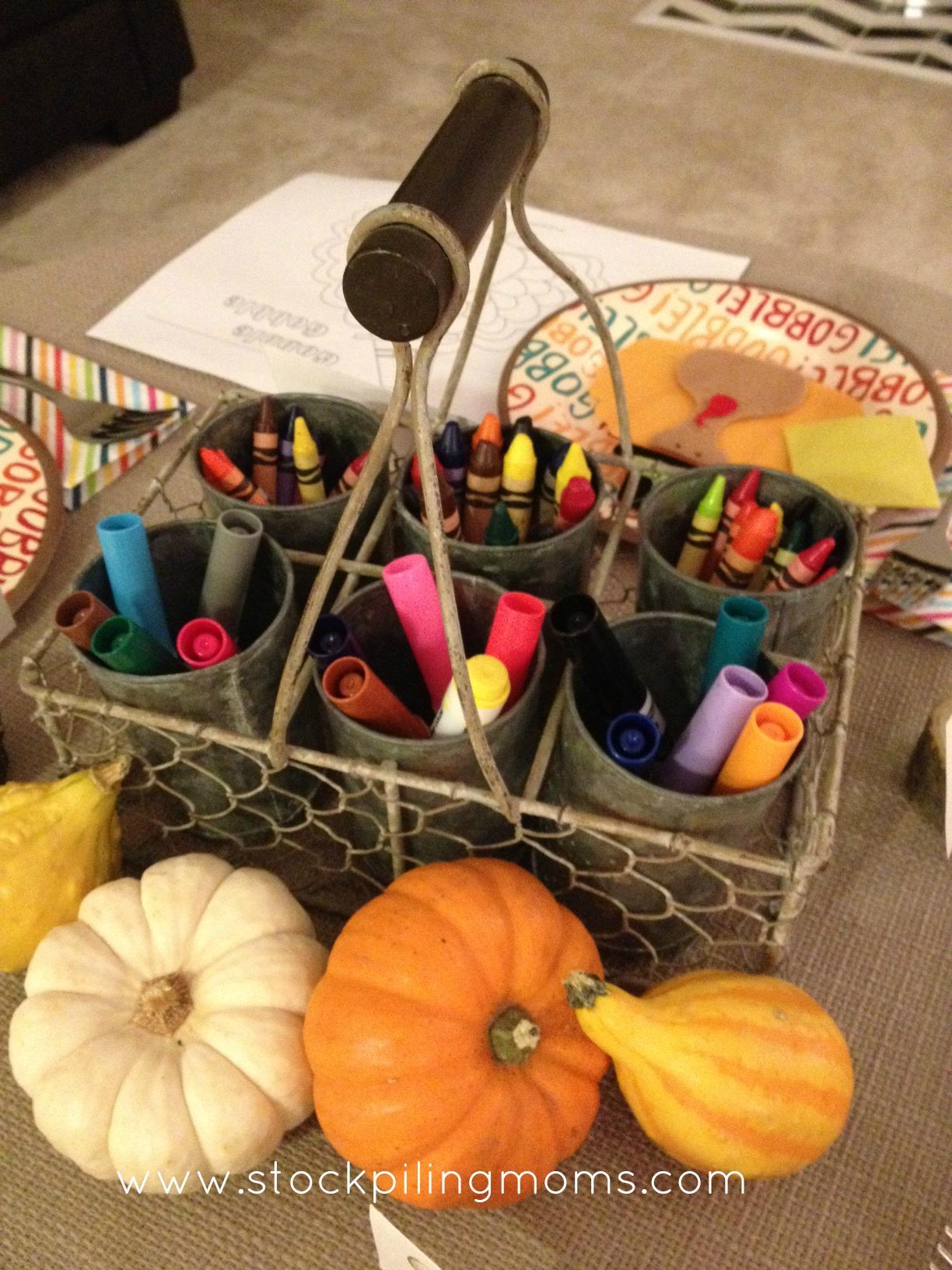 Diy Kid S Thanksgiving Table