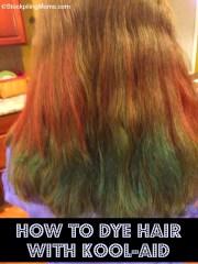 dye hair with kool-aid