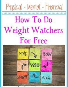 also how to do weight watchers for free rh stockpilingmoms