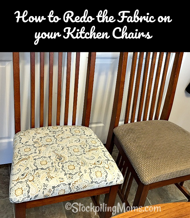 what type of fabric to cover kitchen chairs royal alliant chair how redo the on