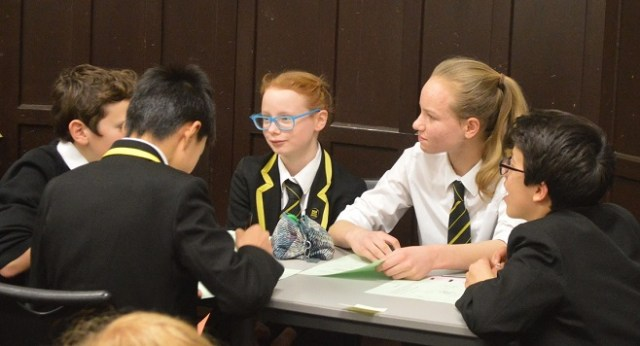 Second and Third Year Maths competition