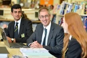 Senior School Headmaster - Dr Paul Owen