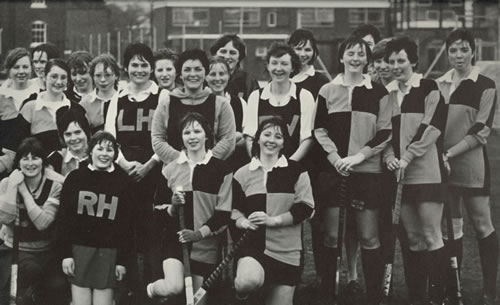 Hockey squad, 1981 - 1982