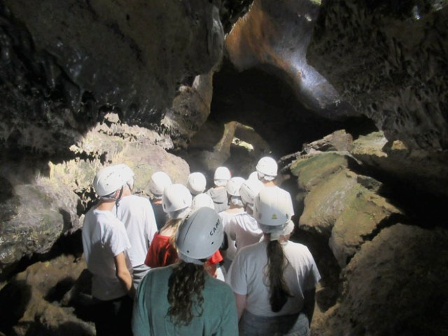 Cave system on Azores trip