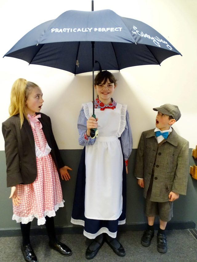 Mary Poppins and the Banks Children