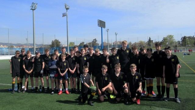 Football Tour to Barcelona - touring group