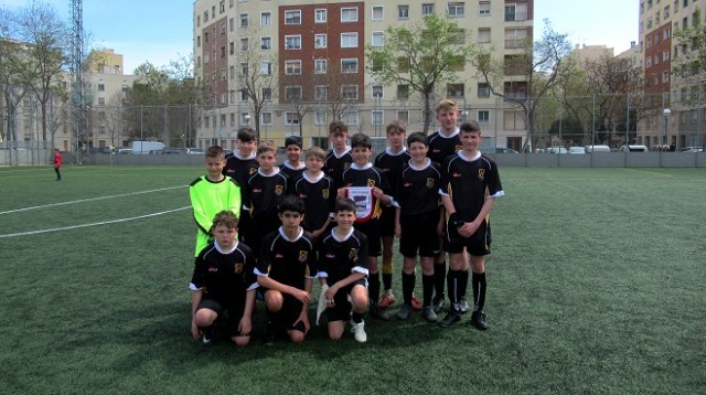 Football Tour to Barcelona - team picture
