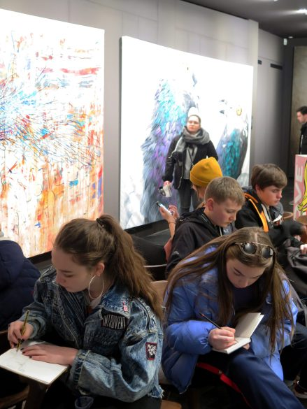 Art Students in Berlin
