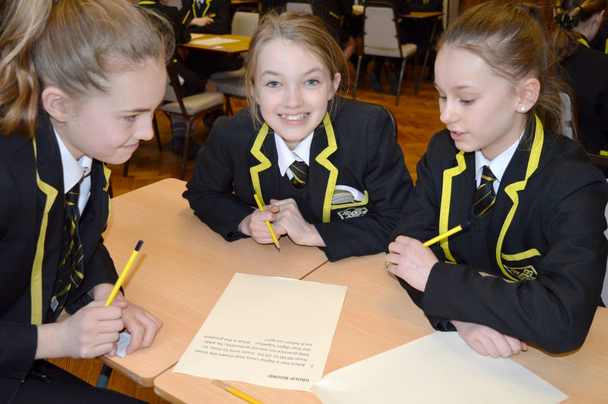 Maths Challenge Participants