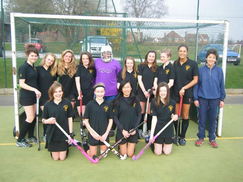 Stockport schools tournament-winning under-14 hockey squad